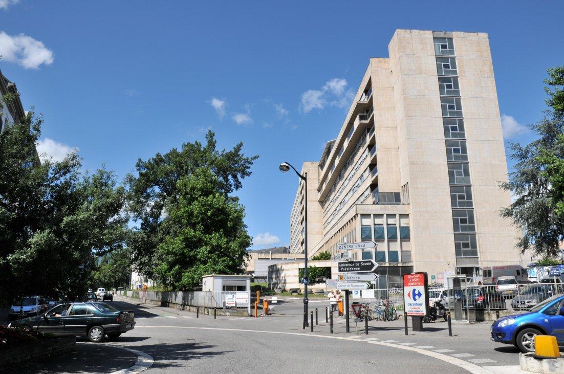 Bâtiment Dorstter, hôpital de Chambéry.
